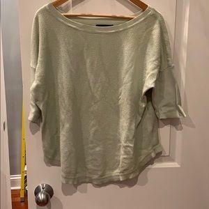 Light green banana republic sweater